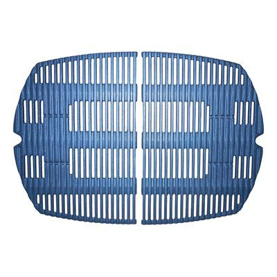 Heavy Duty BBQ Parts 63802 Matte Cast Iron Cooking Grid for Weber Brand Gas Grills