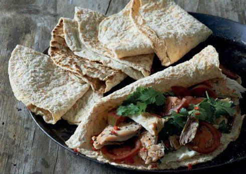 "Carb-free tortillas or ""cauli-wraps"""