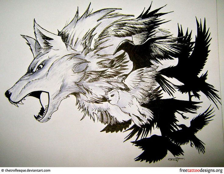crow tattoo loyalty tattoos drawings pinterest wolves awesome and valkyrie tattoo. Black Bedroom Furniture Sets. Home Design Ideas