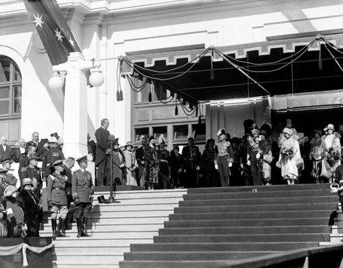 Opening of Parliament House, Canberra, 9 May 1927.