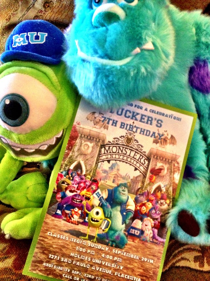 22 best Monsters University Party images on Pinterest | Monsters ...