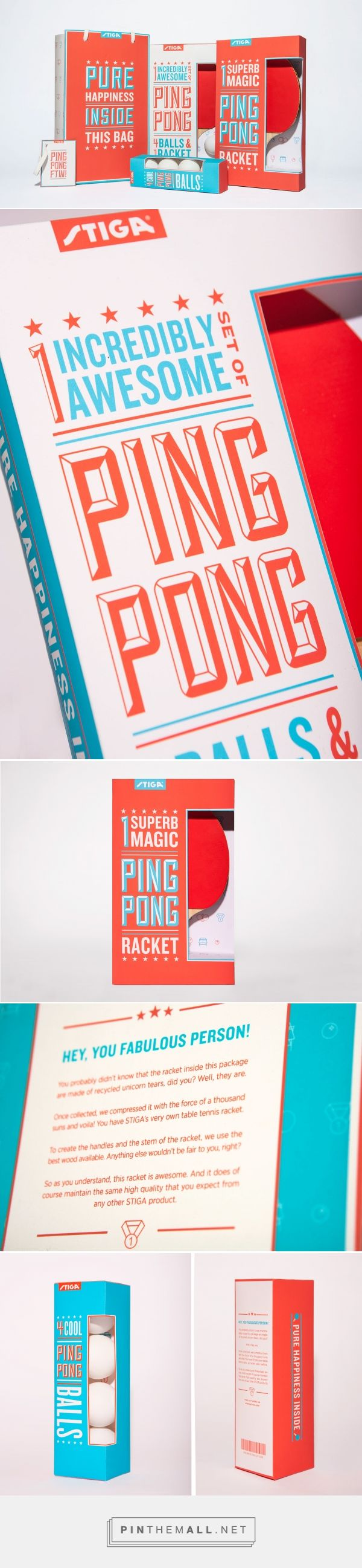 686 best design ideas images on pinterest posters graph design stiga ping pong packaging a colorful and fun line of table tennis products directed towards fandeluxe Image collections