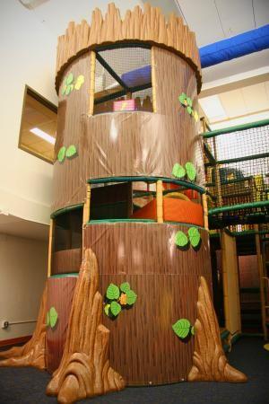Williston Fitness Center Treehouse And Indoor Splash Pad