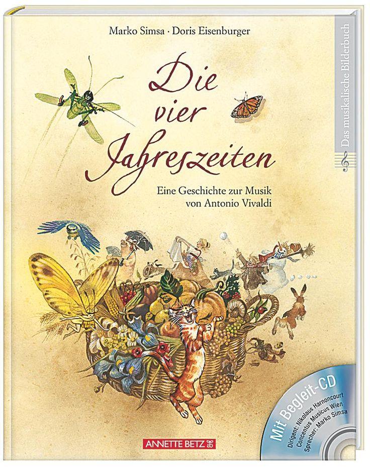 Musikbilderbuch mit Audio-CD (Titel: Die vier Jahreszeiten)