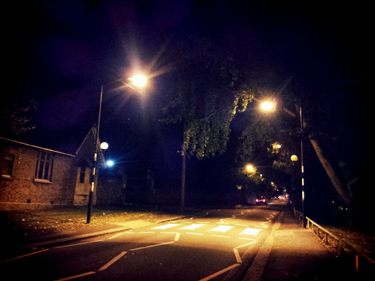 Night lights, London