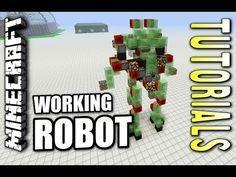Minecraft: Mechmaster Nine Million Robot Tutorial for PC Xbox & Playstation - YouTube