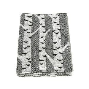Lapuan Kankurit Koivu Bath Towel The gentle black, white and grey birch