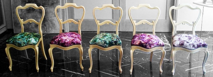 'Lydia' collection of chairs