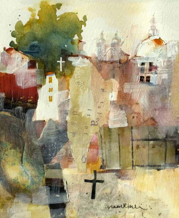 Susan K Miller watermedia collage#Repin By:Pinterest++ for iPad#