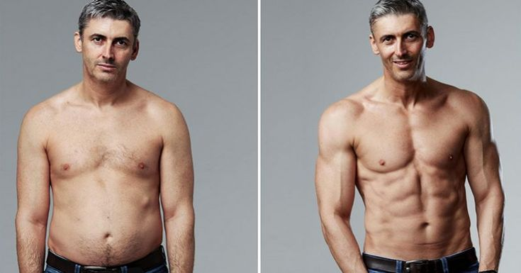 """Overweight 45-Year Old Father Reveals His Secrets For Transforming His """"Dad Bod"""" In Just 12 Weeks"""