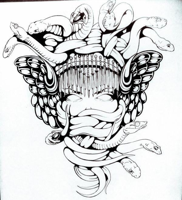 Medusa on Behance