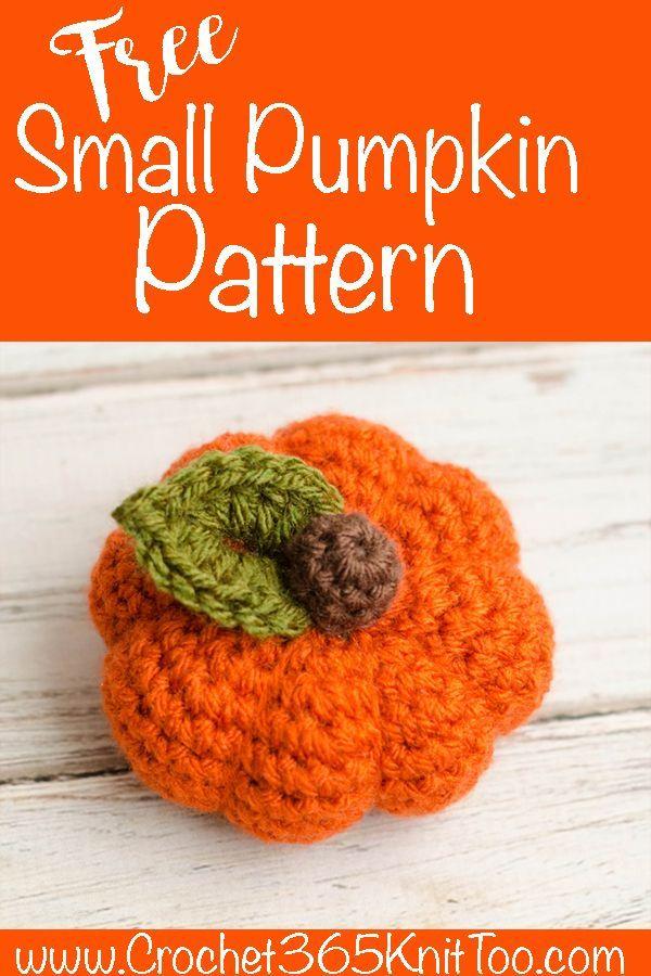 Small Crochet Pumpkin Pattern Crochet Patterns Inspiration