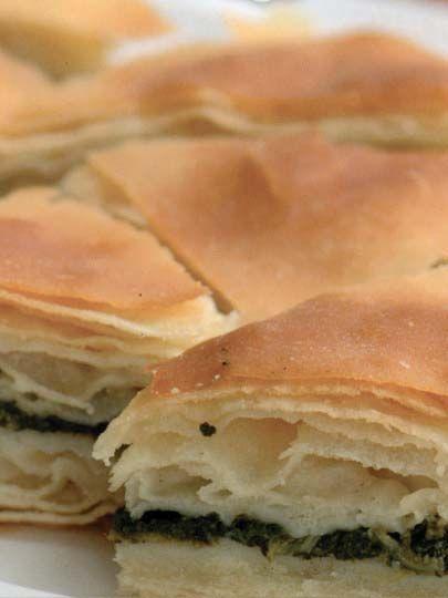 Ispanaklı açma börek Tarifi - Hamur İşleri Yemekleri - Yemek Tarifleri