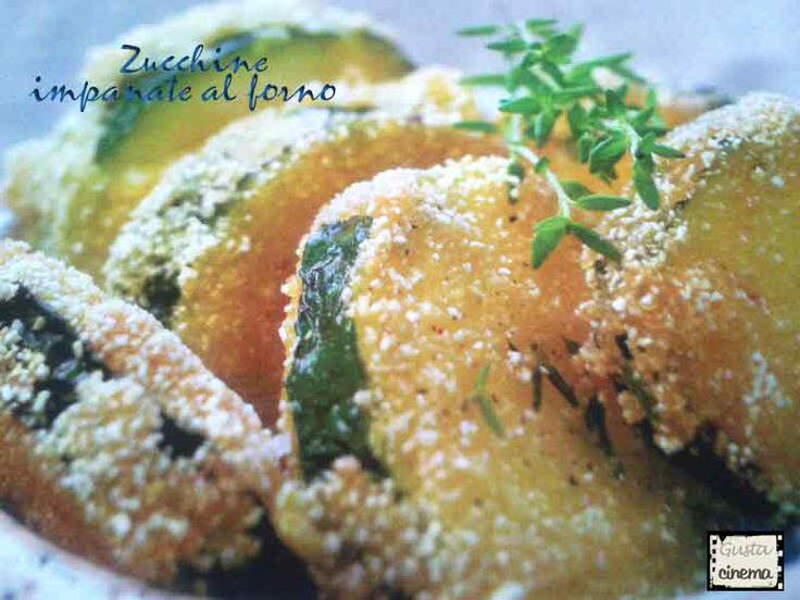 Zucchine impanate al forno, un contorno leggero e di facile preparazione