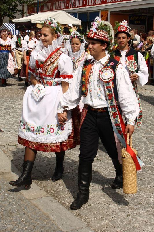 Bukovanský kroj jižní Morava - costumes South Moravia, Czech republic