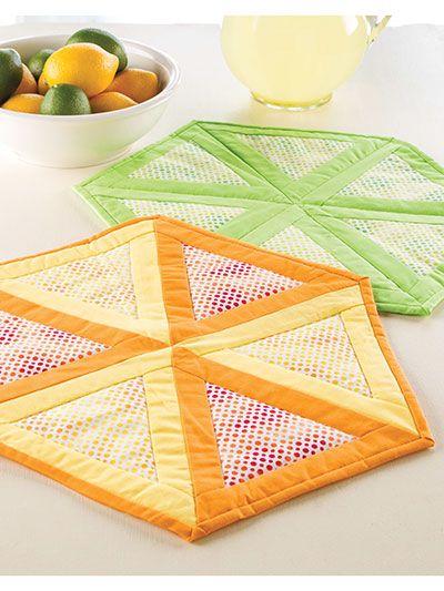 Citrus Table Mat
