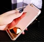 Shiny Mirror Flash iPhone Case - Rose Gold - Shire Fire