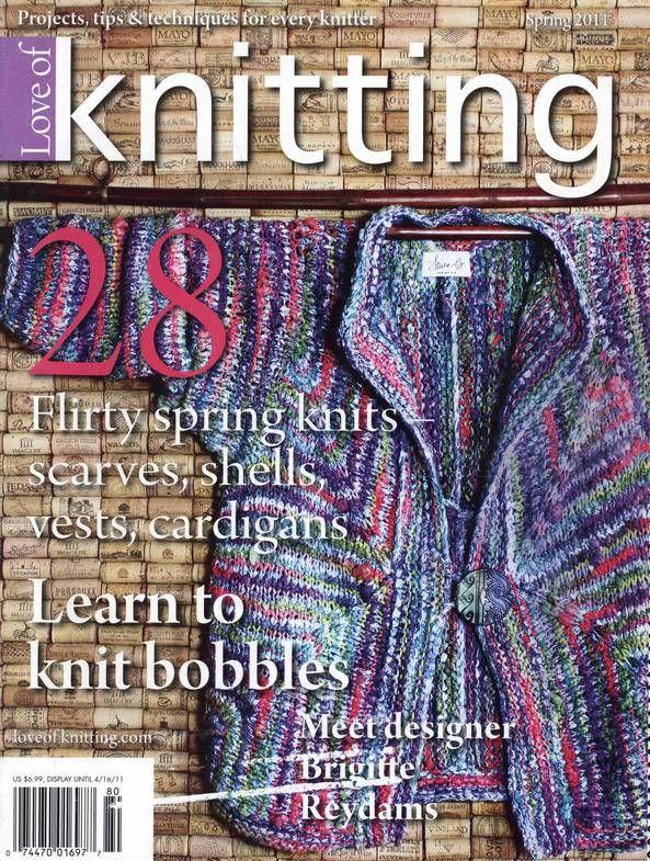 Love of Knitting Spring 2011