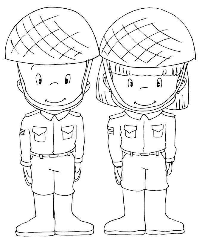 Soldado mexicano para colorear - Imagui.