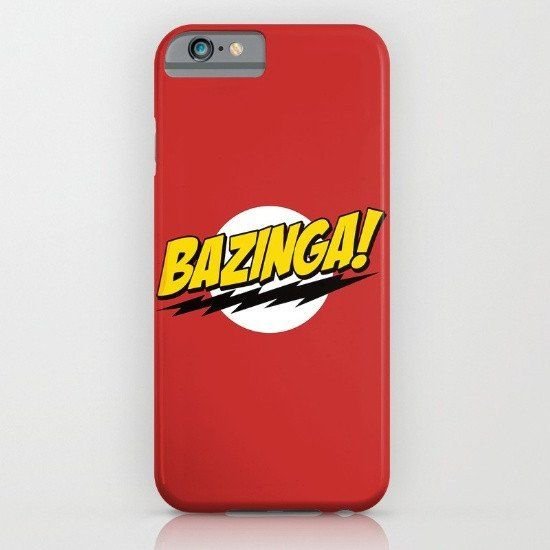 The Big Bang Theory - Bazinga iphone case, smartphone