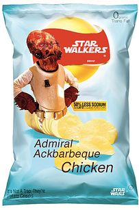 "These crisps. | 37 Things Only ""Star Wars"" Fans Will Find Funny"