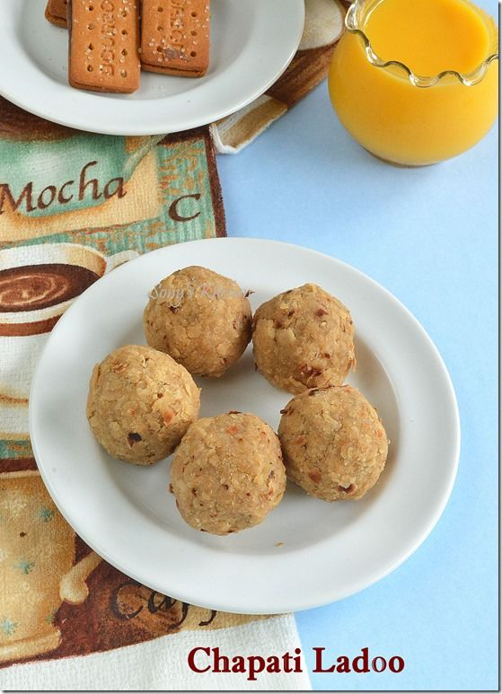 Scratching your head what to do with leftover stuff ? Today I have for you a quick and instant Chapati Ladoo, which is loved by all especially kids :) (With step by step picture) {New Post} :http://www.sonykitchen.com/2014/10/leftover-chapathi-ladoo.html