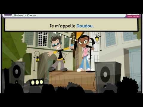 Primary French Greeting song for World Hello Day - Tout Le Monde [HD] - YouTube