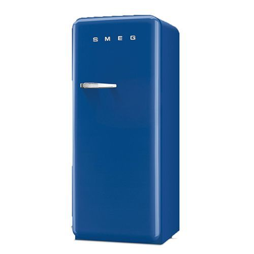 "Many colors to choose from! Smeg 9.22 Cu. Ft. Retro Refrigerator (Dimensions: 57"" H x 24"" W x 27.5"" D)"