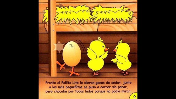 """CUENTO """"EL POLLITO LITO"""" EDAD: 3 AÑOS"""
