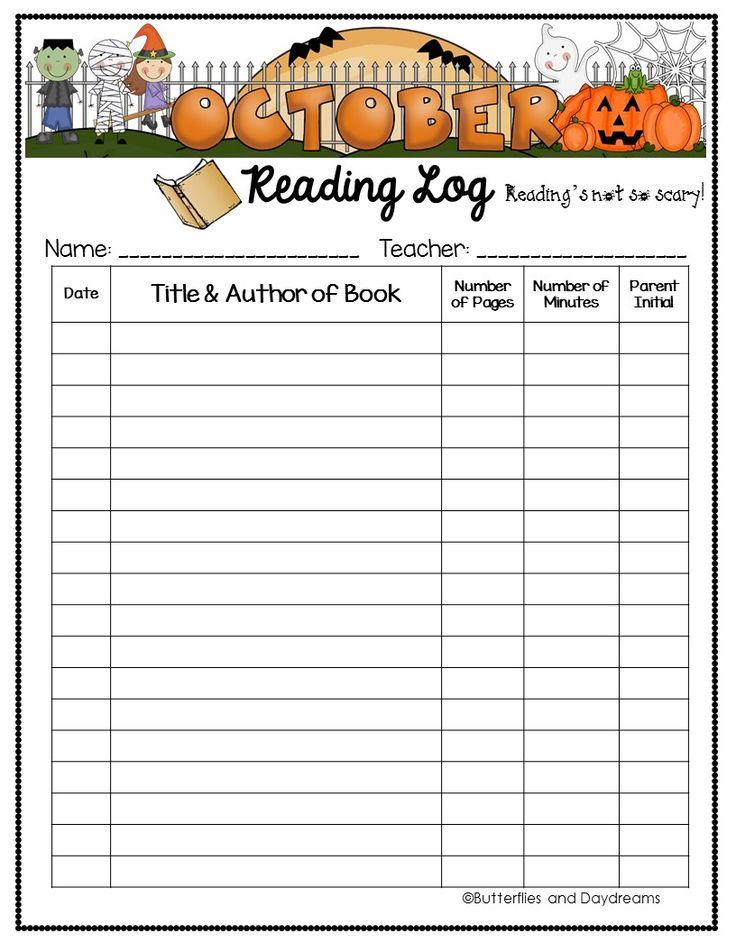 94a2ed659dc4821e2ab0151a2a410c29  home reading log reading logs - Kindergarten Reading Log