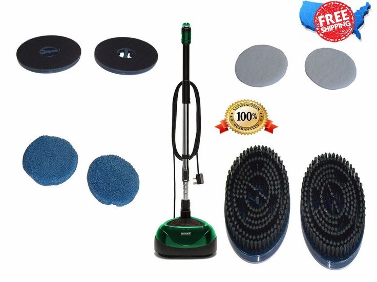 Buffing pad, polishing pad, brush - 9cleaning width - bare floor, laminate floor, tile floor, wooden floor, vinyl floor, marble floor, granite - 30 ft. cable length - green, black. Brush speed (rpm): 2200 rpm. | eBay!