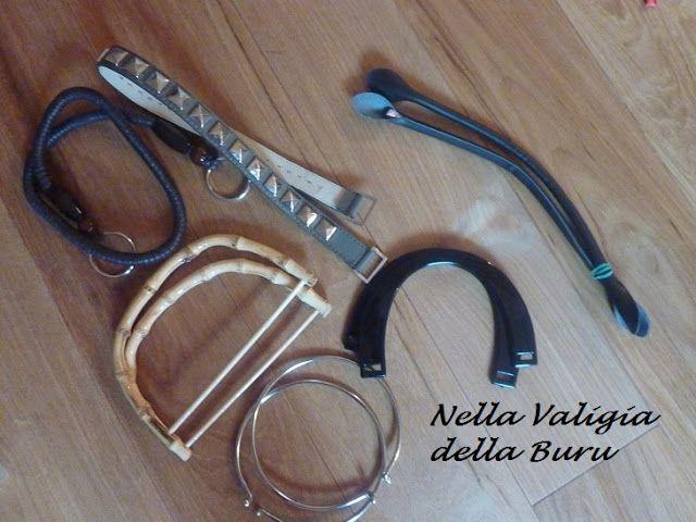 Nella valigia della Buru: TUTORIAL: tutti i modi per mettere i manici alla vostra borsa in fettuccia - CROCHET BAGS FREE PATTERNS