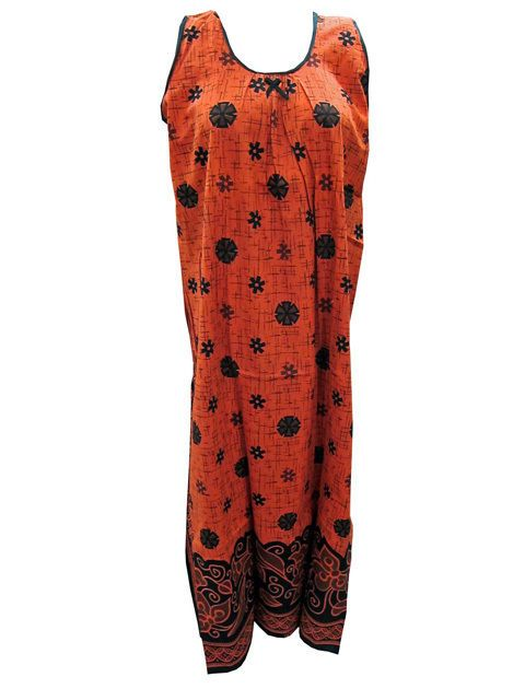 Bohemian Hippie Gypsy Maxi Dress Boho Summer Fashion Cotton Kaftan