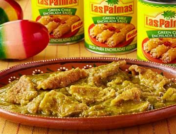 Crispy and green, these chicarrones en salsa verde are both tasty and hearty – great for any occasion.