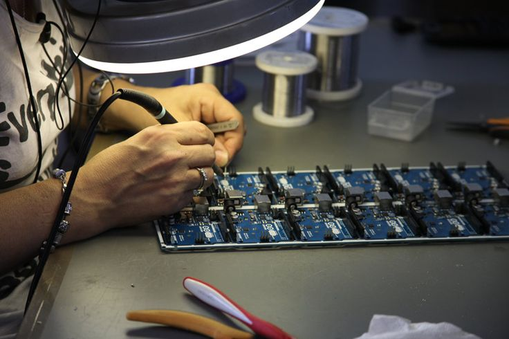 arduino factory + production tour in turin, italy  - designboom | architecture & design magazine