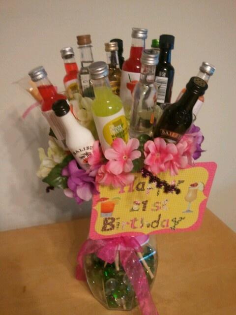 21 st birthday bouquet