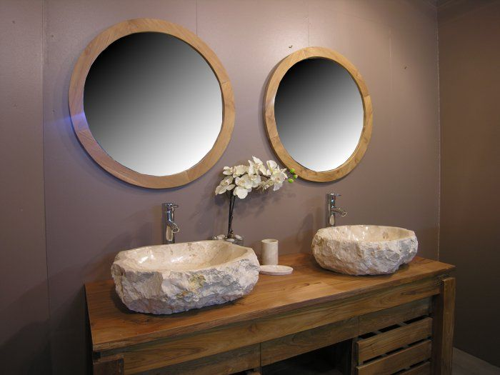 17 meilleures id es propos de miroir hublot sur for Grande vasque salle de bain