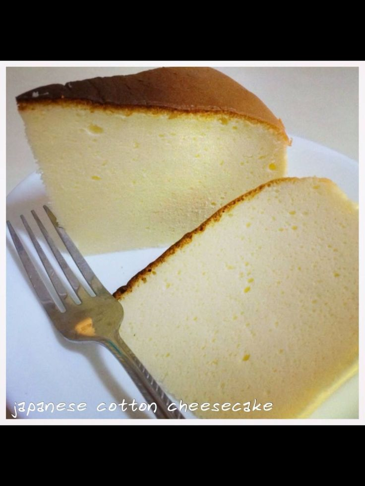 Japanese Cotton Cheesecake | Munch Ministry