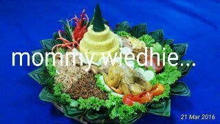 Tumpeng from indonesia