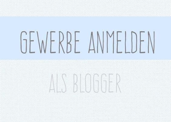 Gewerbe anmelden als Blogger – Cornelia Marquardt