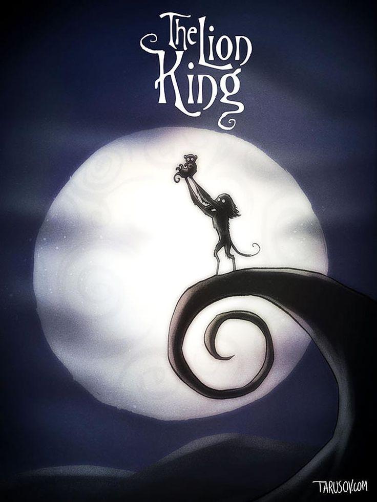 Si Tim Burton avait réalisé les grands classiques de Disney (image)
