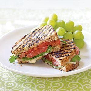 Grilled Tomato and Brie Sandwiches Recipe | MyRecipes.com