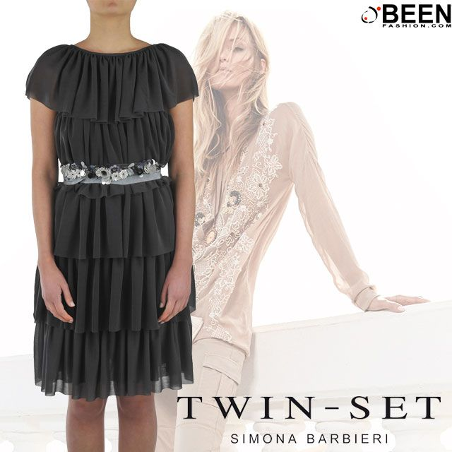 Un abitino #TWINSET è proprio quello che ci vuole per una serata chic! Può arrivare direttamente a casa tua, basta un click su #BeenFashion! http://www.beenfashion.com/it/twin-set-abito-con-balze.html?utm_source=pinterest.com&utm_medium=post&utm_content=twinset-abito-con-balze&utm_campaign=post-prodotto
