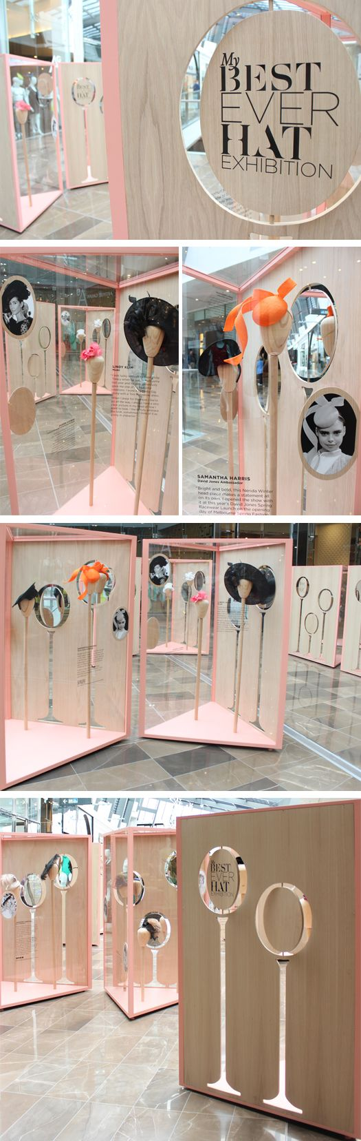 [Raw materials juxtaposed with refined elements are TRENDING.  As are dress-up photo booths with fun props as promotions for exhibit booths / stands / events -area]