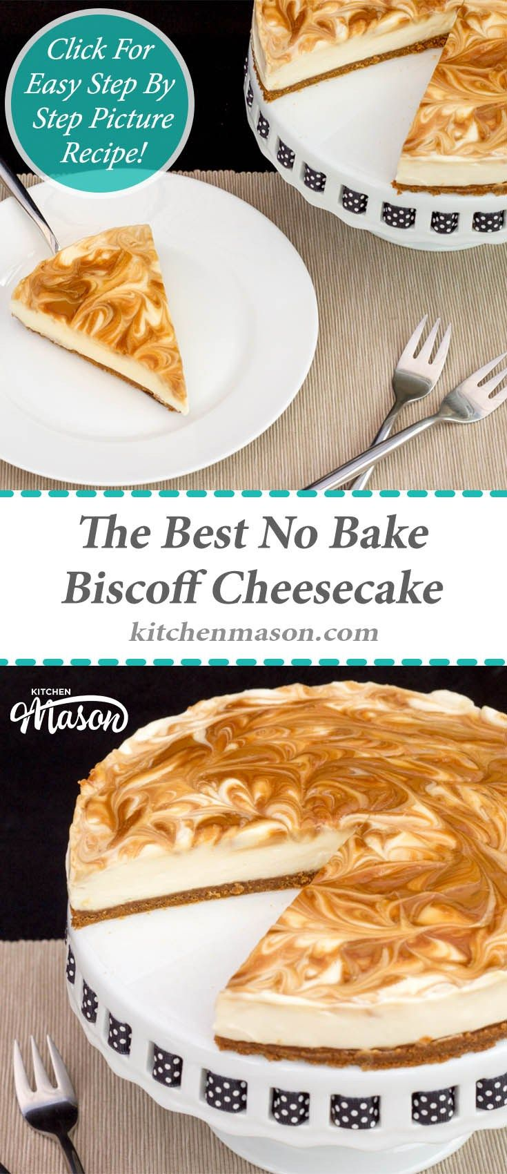 Biscoff Cheesecake | The Best | Easy | No Bake | Cookie Butter