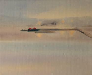 "Saatchi Art Artist Marta Zamarska; Painting, ""Winter Impression 24"" #art"