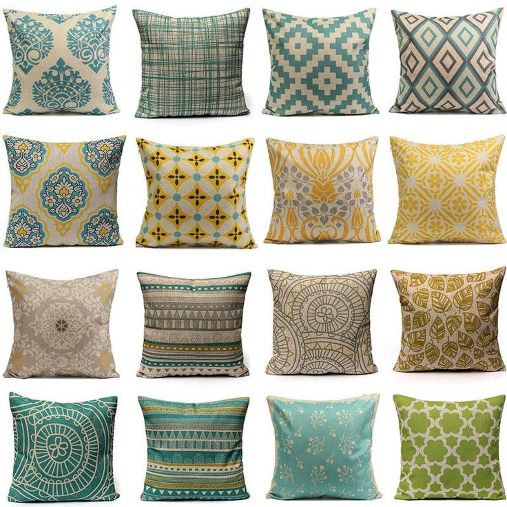 Tired of your old sofa and wanting a whole new look, but think you can't afford it? Think again! It's super easy by simply adding some slipcovers to your old pillows. With beautiful designs ranging from perfect geometric shapes to summertime flowers and colorful inspiration, you are sure to find the design to match your look, and breathe new life into your living room.