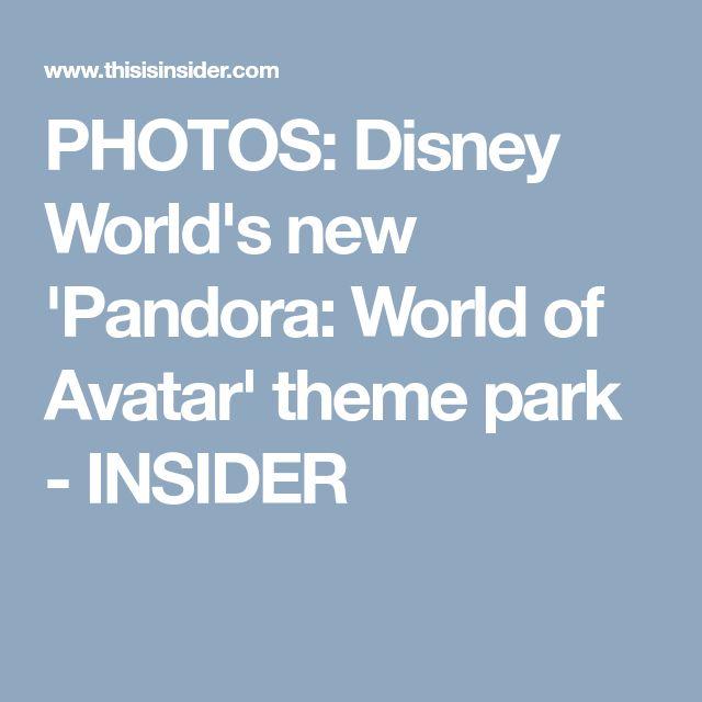 PHOTOS: Disney World's new 'Pandora: World of Avatar' theme park - INSIDER