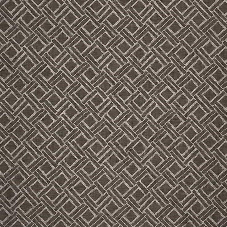Warwick Fabrics : TAVI, Colour WALNUT