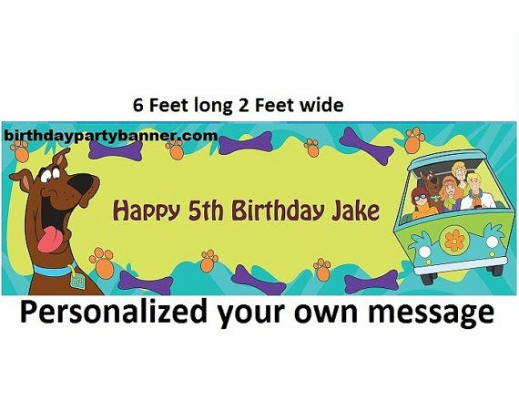 243 best Scooby Doo Party images on Pinterest Birthdays Birthday